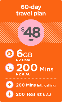 NZ Travel SIM | Skinny NZ